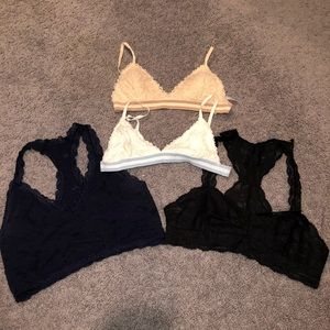 Bundle of bralettes
